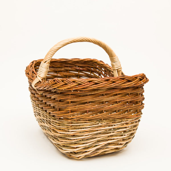 Short Handled French Willow Mix Shopper