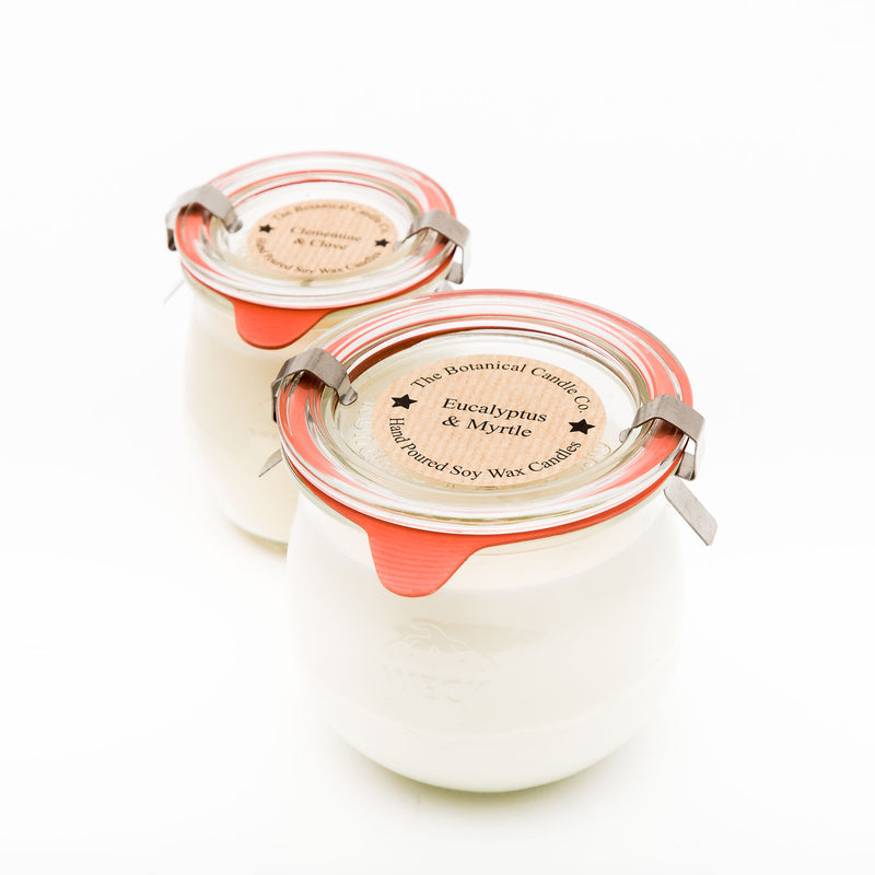 Weck Jar Botanical Candles 370ml