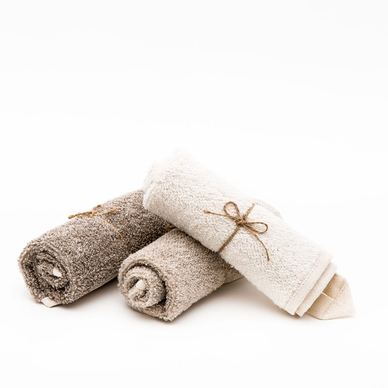 Natural Linen Face Cloth