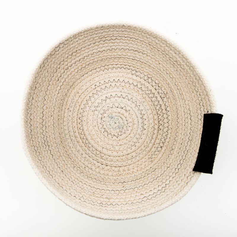 Duo Tone Cotton Rope Bowl