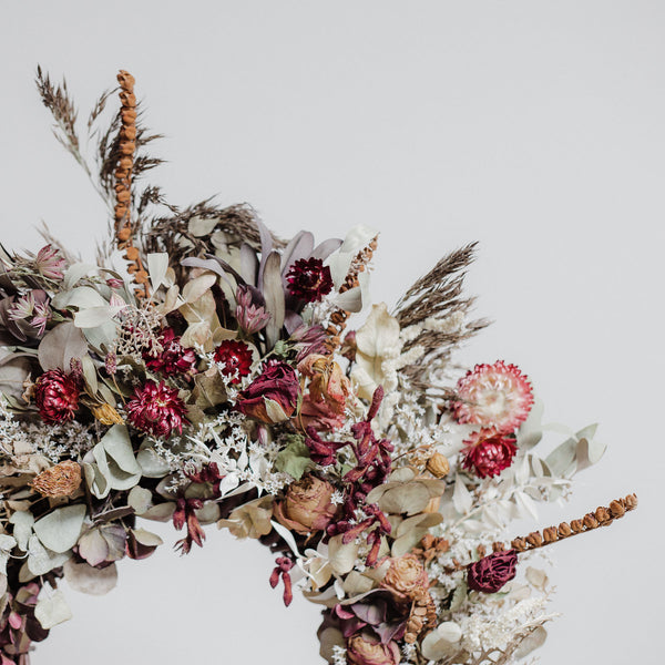 Silesian Meadow Dried Floral Wreath