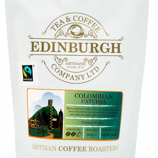 Colombian Caturra Ground Coffee
