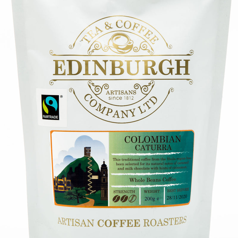 Colombian Caturra Whole Bean Coffee