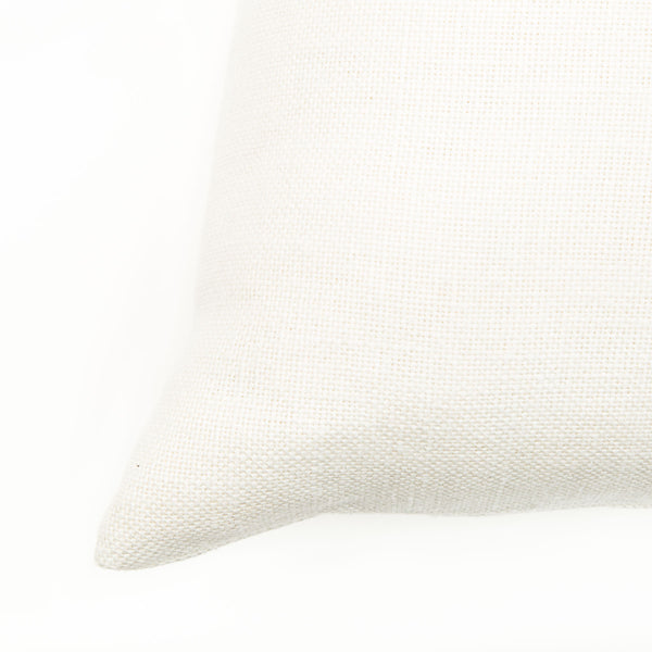 Cream Colour Small Natural Linen Cushion