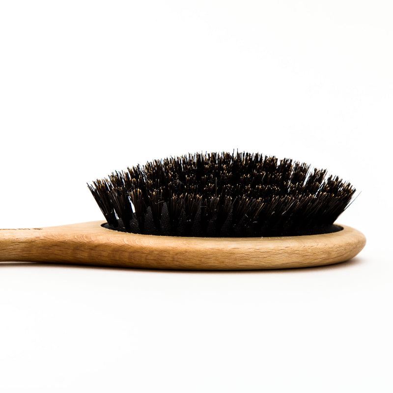 Oiled Beech & Wild Boar Bristle Hairbrush