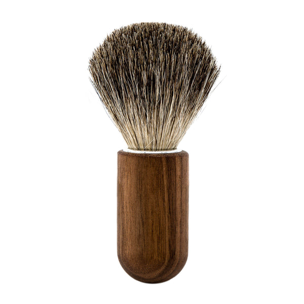 Oiled Walnut Shaving Brush