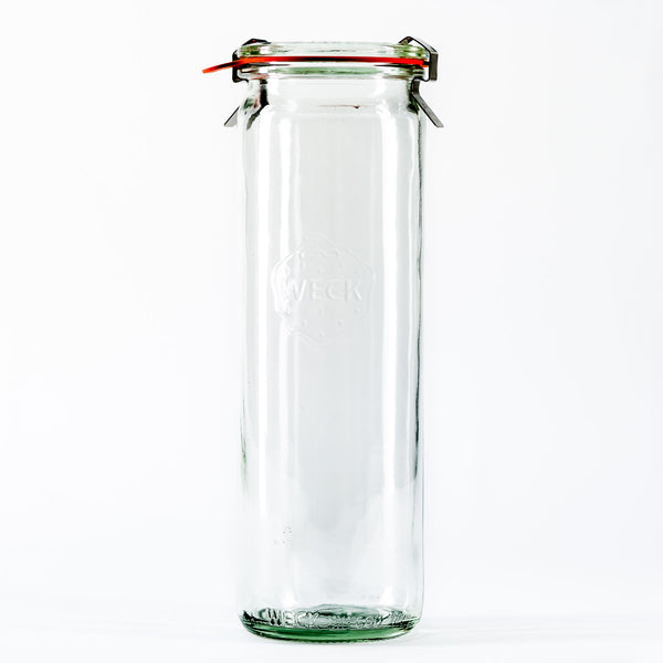 20.4oz Tall Weck Jar With Seal & Clips