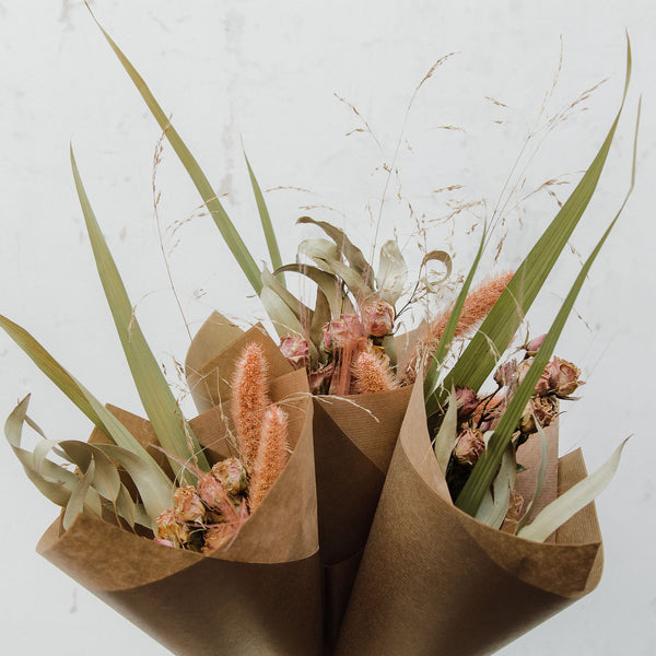 Rosie Reed Feather Grass Posy