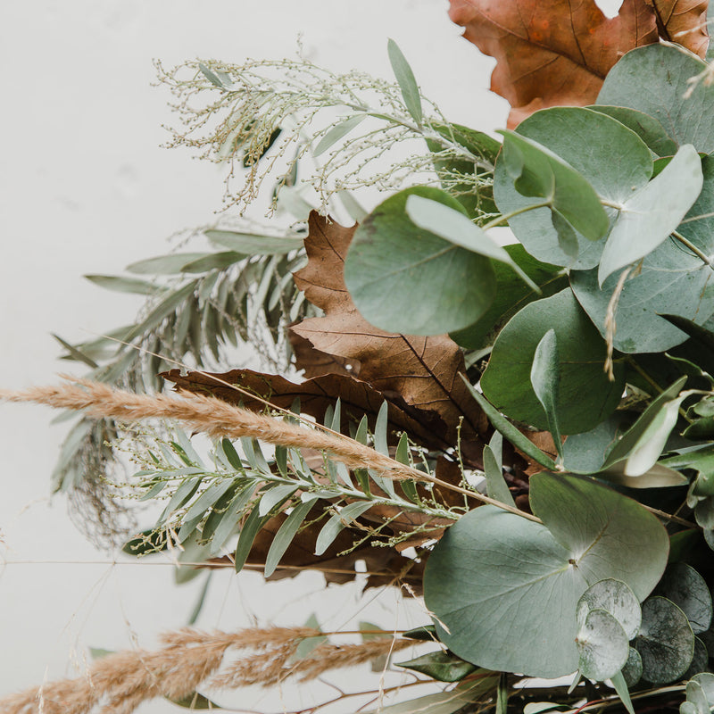 Festive Mixed Foliage Wreath Making Workshop - Saturday 5th December