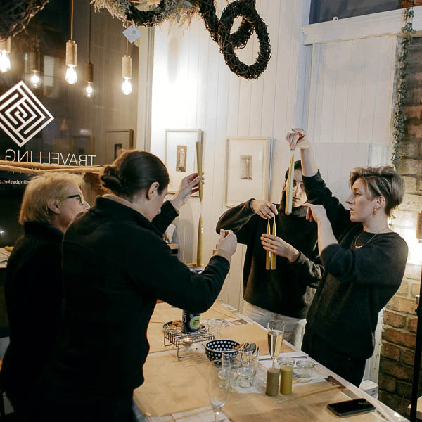 Beeswax Candle Making Workshop - Wednesday 9th December