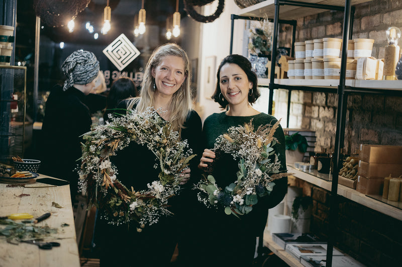 Dried Flower Festive Wreath Making Workshop - Wednesday 16th December