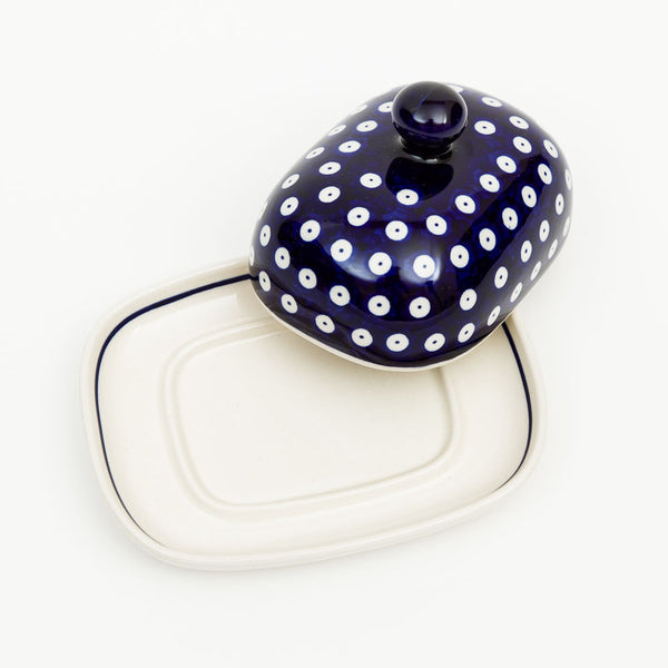 Butter Dish - Polish Pottery | Travelling Basket