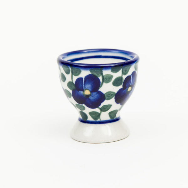 Egg Cup - Polish Pottery | Travelling Basket