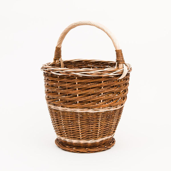 Red Willow Potato Basket - Handmade Willow Basket