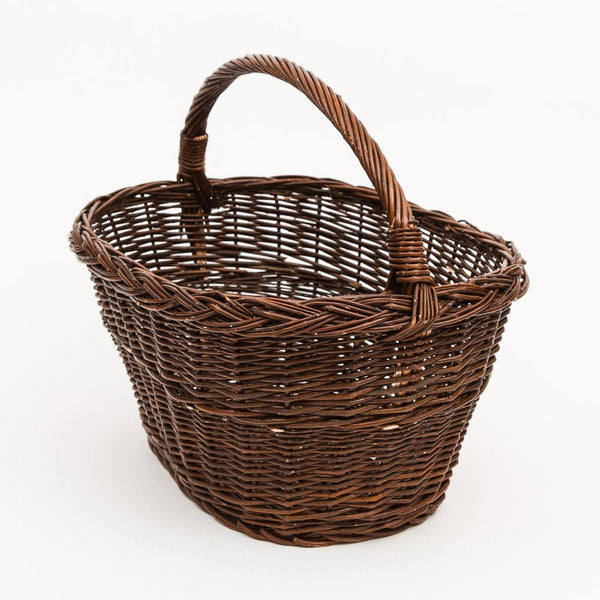 The Workshop Lug - Handmade Willow Basket