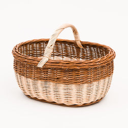 The Makers Basket - Handmade Willow Basket