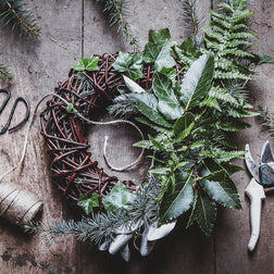 Festive Wreath Making Workshop - Thursday 12th December