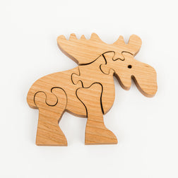 Wooden Moose Puzzle