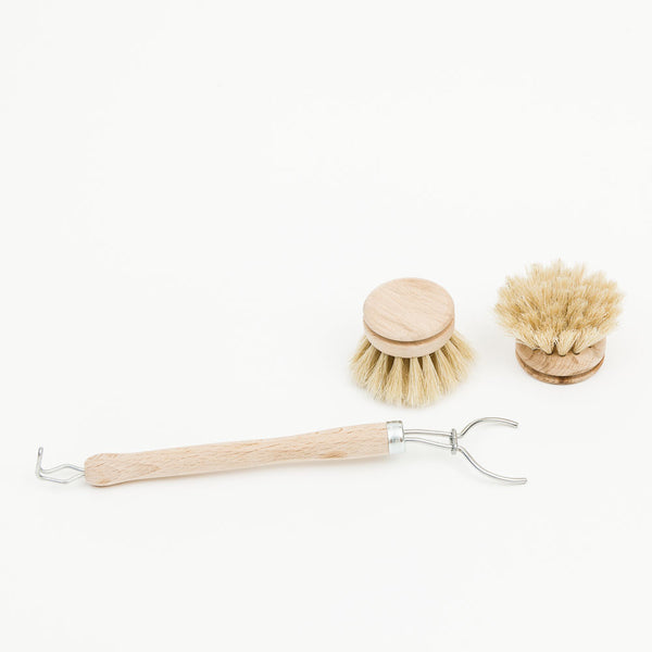 Eco Washing Up Brush Set Of Replacement Heads