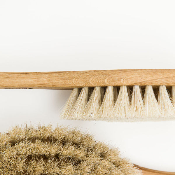 Long Handled Oak Bath Brush