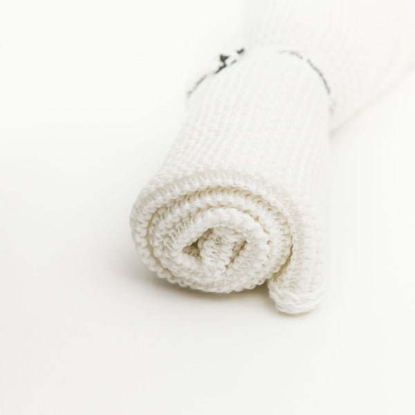Organic Cotton Knitted Face Cloth