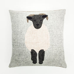 Harris Tweed Scottish Blackface Cushion