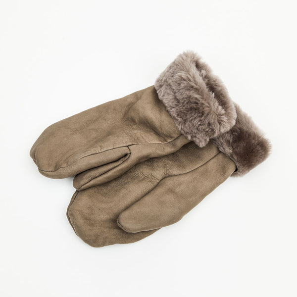Ladies Mountain Leather Mittens