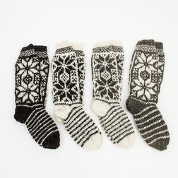 Mountain Slipper Socks