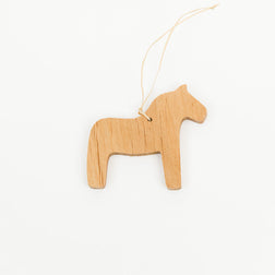 Wooden Dala Horse Decoration