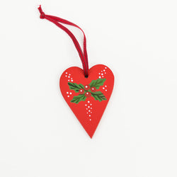 Painted Heart Decoration