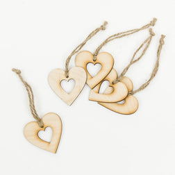 Hollow Heart Decorations