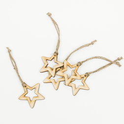 Hollow Star Decorations