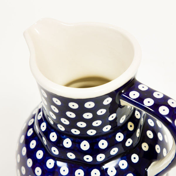 Bell Jug - Polish Pottery | Travelling Basket