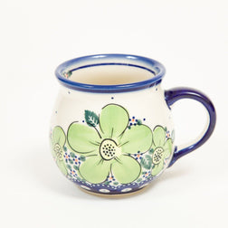 Bell Mug - Polish Pottery | Travelling Basket