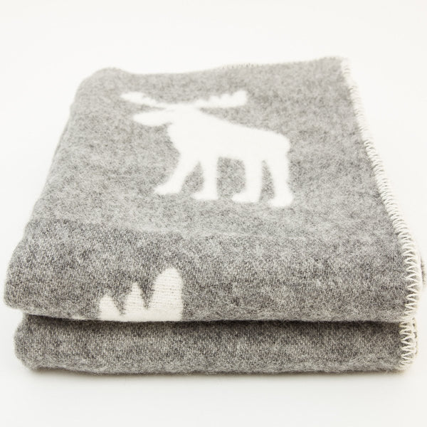 Double Weave Wool Blanket - Woollen - shop online uk | Travelling Basket