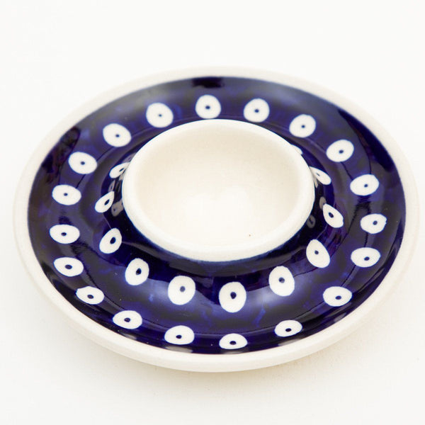 Egg Dish - Polish Pottery | Travelling Basket