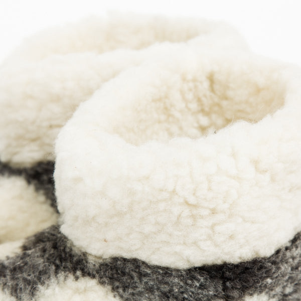 Mountain Slippers - Woollen - shop online uk | Travelling Basket