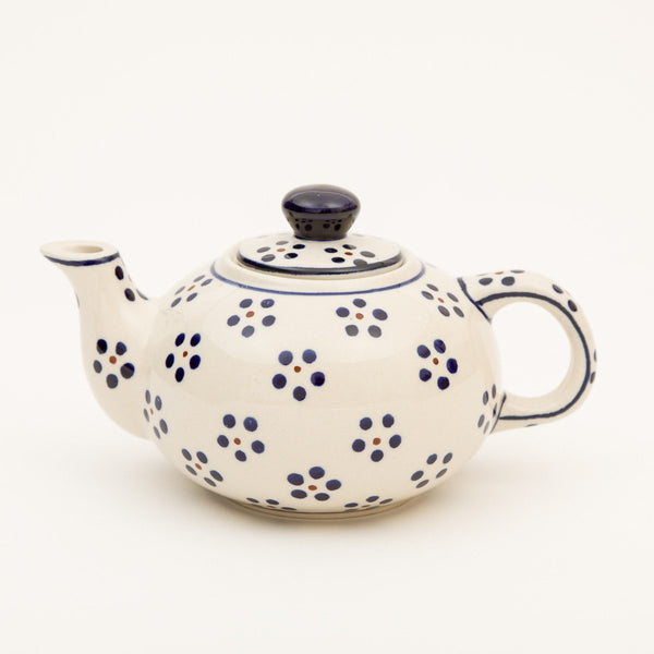Personal Teapot - Polish Pottery | Travelling Basket