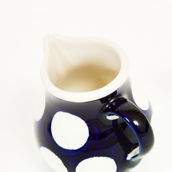 Polka Milk Jug - Polish Pottery | Travelling Basket