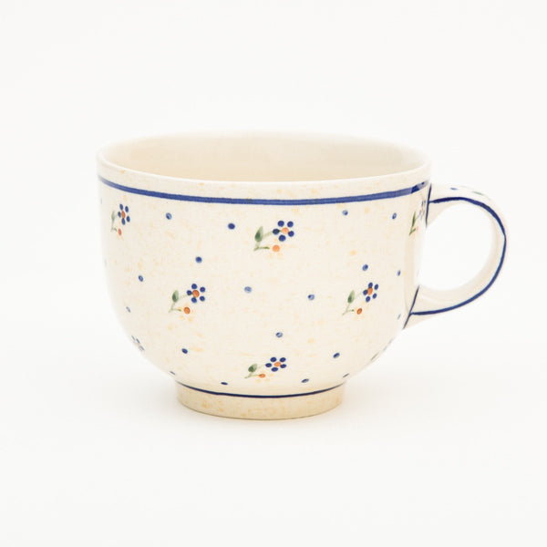 Porringer Mug - Polish Pottery | Travelling Basket