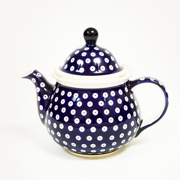 Queen Teapot - Ceramic - shop online uk | Travelling Basket