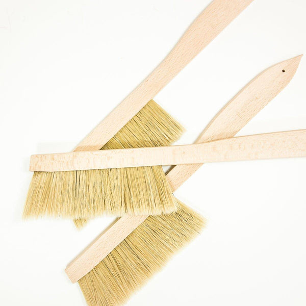 Small Bee Brush - Wooden - shop online uk | Travelling Basket