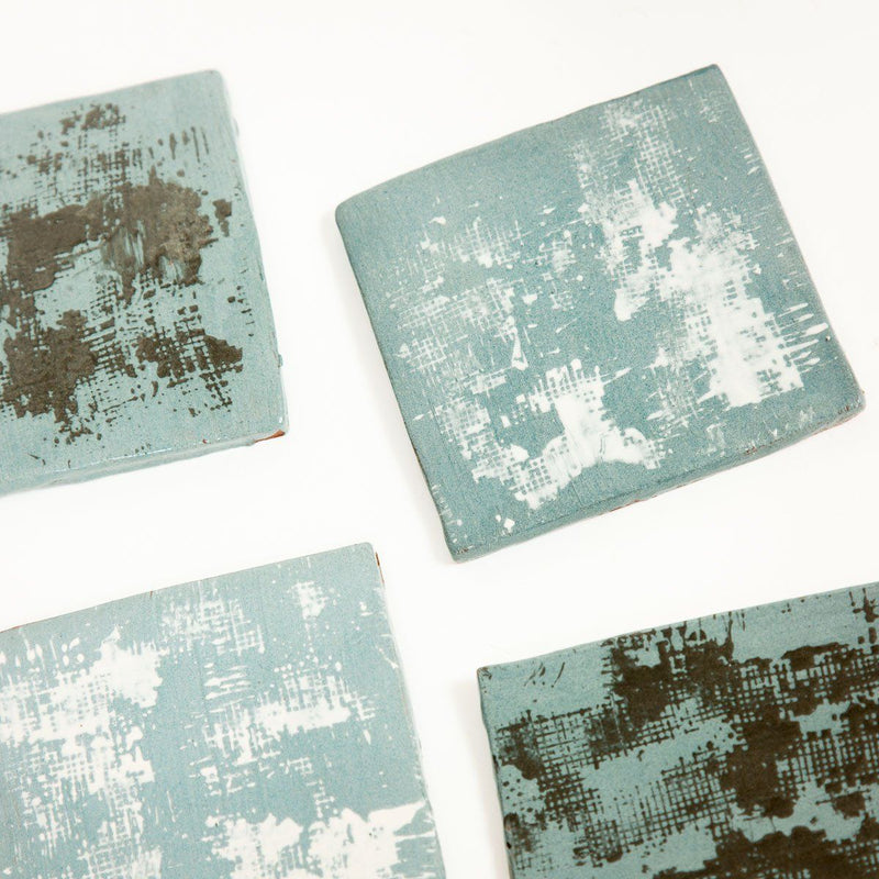Square Coasters - Ceramic - shop online uk | Travelling Basket