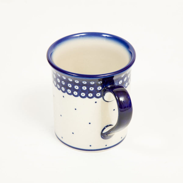 Tall Mug - Polish Pottery | Travelling Basket