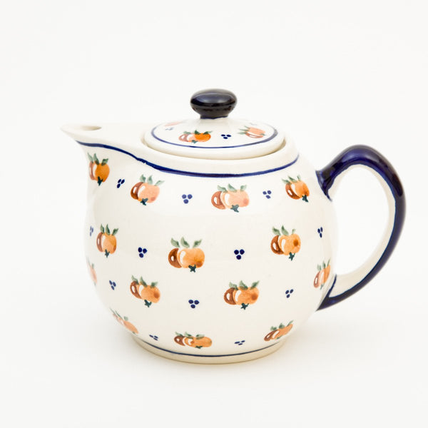 Teapot - Polish Pottery | Travelling Basket