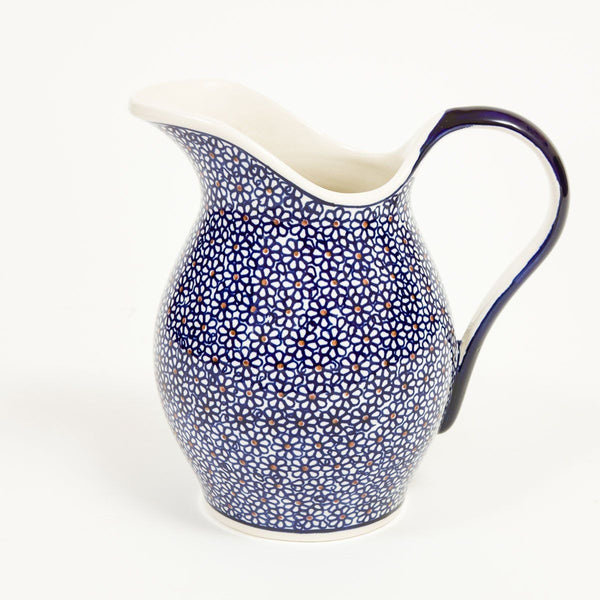 Washbasin Jug - Polish Pottery | Travelling Basket