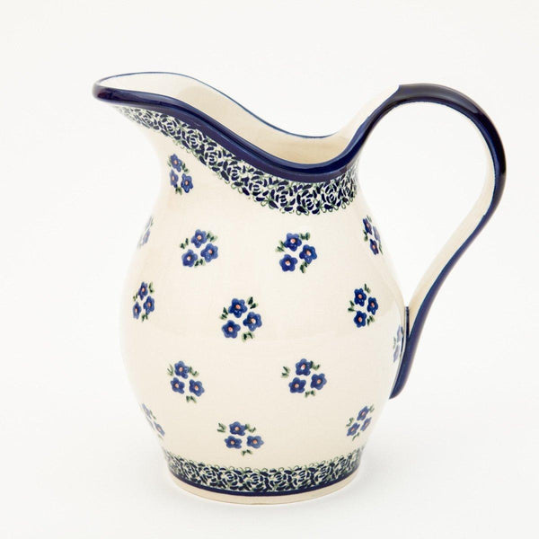 Washbasin Jug - Ceramic - shop online uk | Travelling Basket