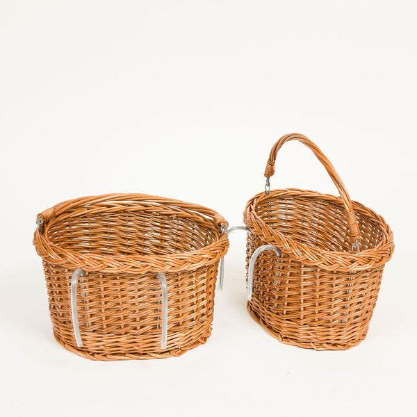 Child's Bike Basket - Handmade Willow Basket