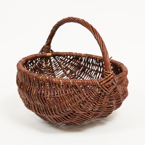 Diamond Handled Frame Basket - Handmade Willow Basket