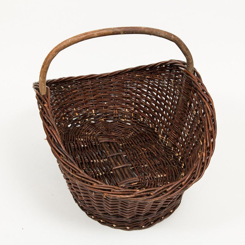 Flared Trug Basket - Handmade Willow Basket